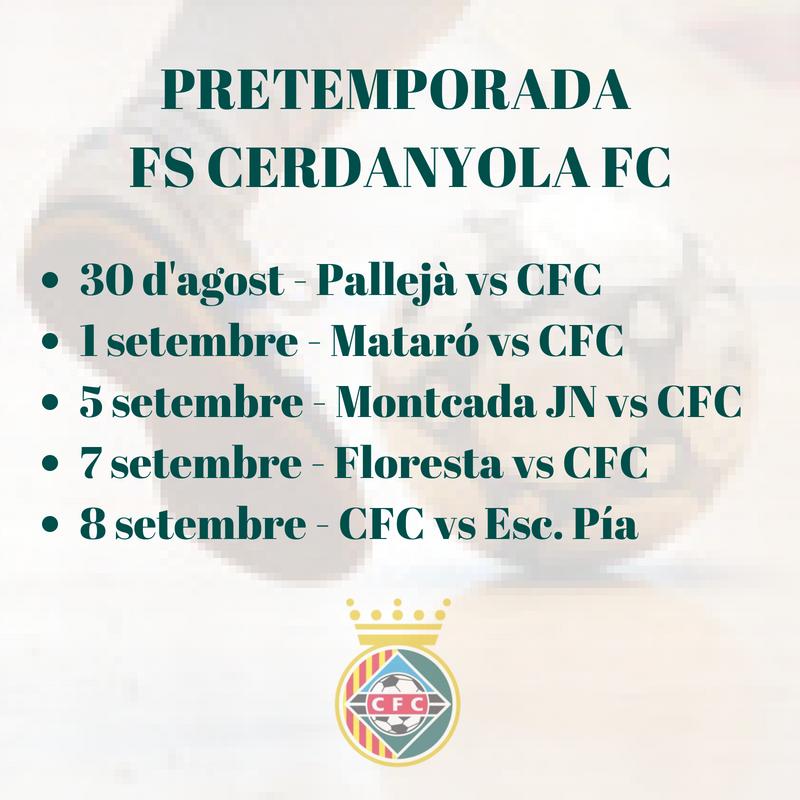 PRETEMPORADA Futbol Sala